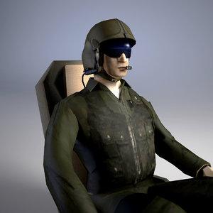 3D pilot usaf