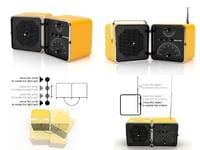 radio ts522 3D model
