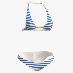 bikini 2 3D model
