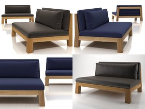 3D gijs loveseat