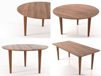 kalahari table 3D