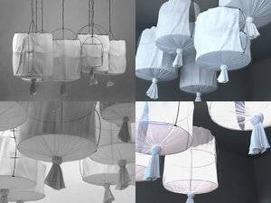 koushi lamp 3D model
