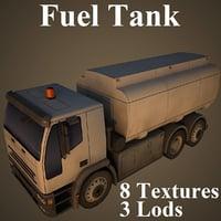 3D model fuel tank