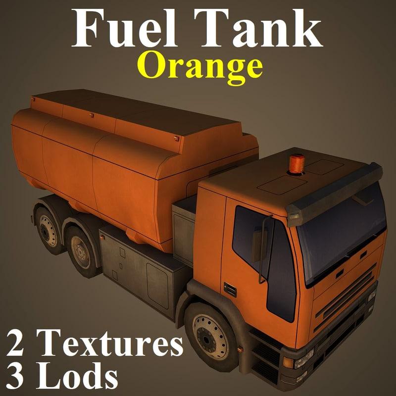 fuel tank ora 3D model