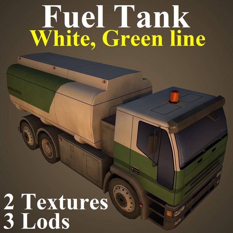 fuel tank wgr 3D model