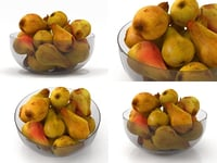 pears smallaccents 3D model