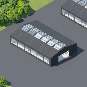 3D hangar structure