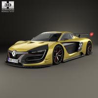 3D model renault sport r