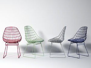 sm05 wire chair 3D model