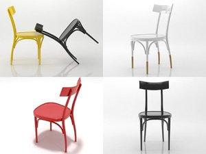 czech chair 3D model