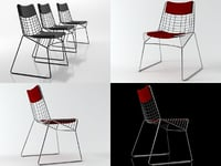 string chair 3D