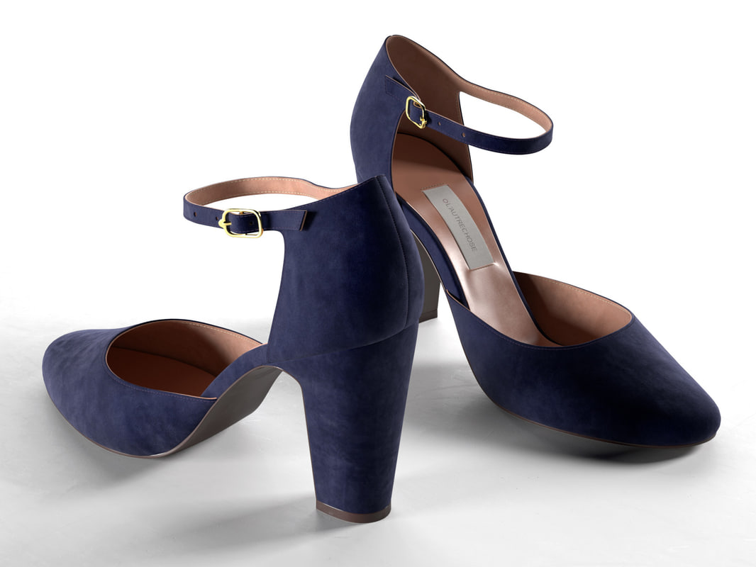 indigo pumps 3D