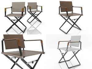 3D seax armchair