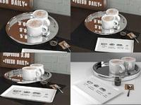 3D shiny coffee refresh