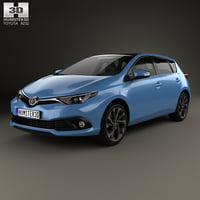 toyota auris 2015 model