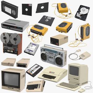 80s electronics 01 3D