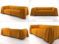 cape sofa 3D model