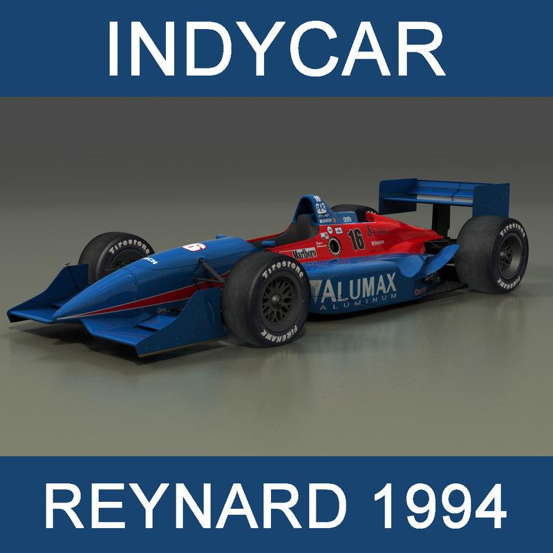 indycar reynard 1994 car 3D model