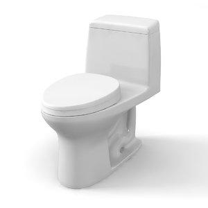 3D kohler toto toilet model