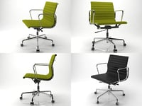 aluminium chair 117 3D