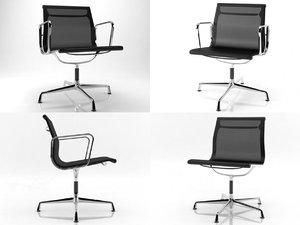 3D aluminium chairs 106 108
