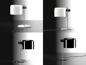 coupe table lamp 3D