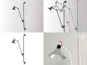 3D n°214 wall lamp
