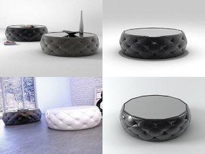 3D glam bonaldo model