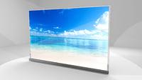 LG OLED G6 3D Model