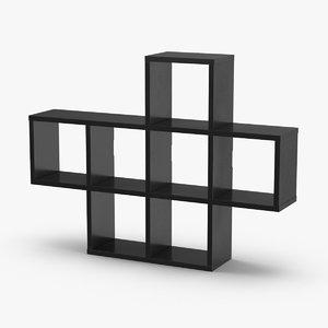 wall-shelf-01 3D model