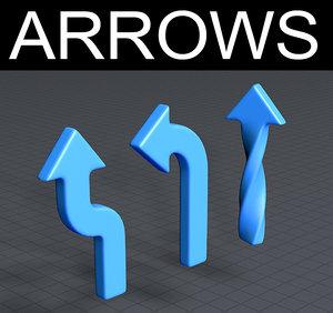 arrow symbols model