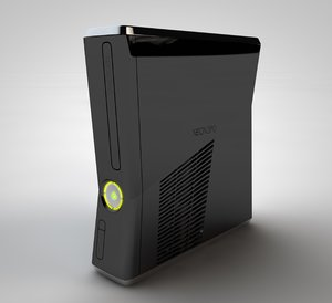 3D xbox 360 slim