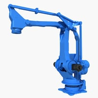 3D mpl800 industrial robot model