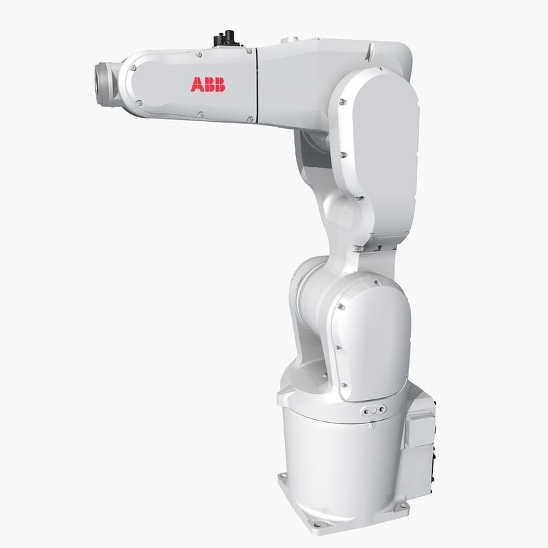 industrial robot abb 3D model