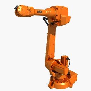 industrial robot abb 3D
