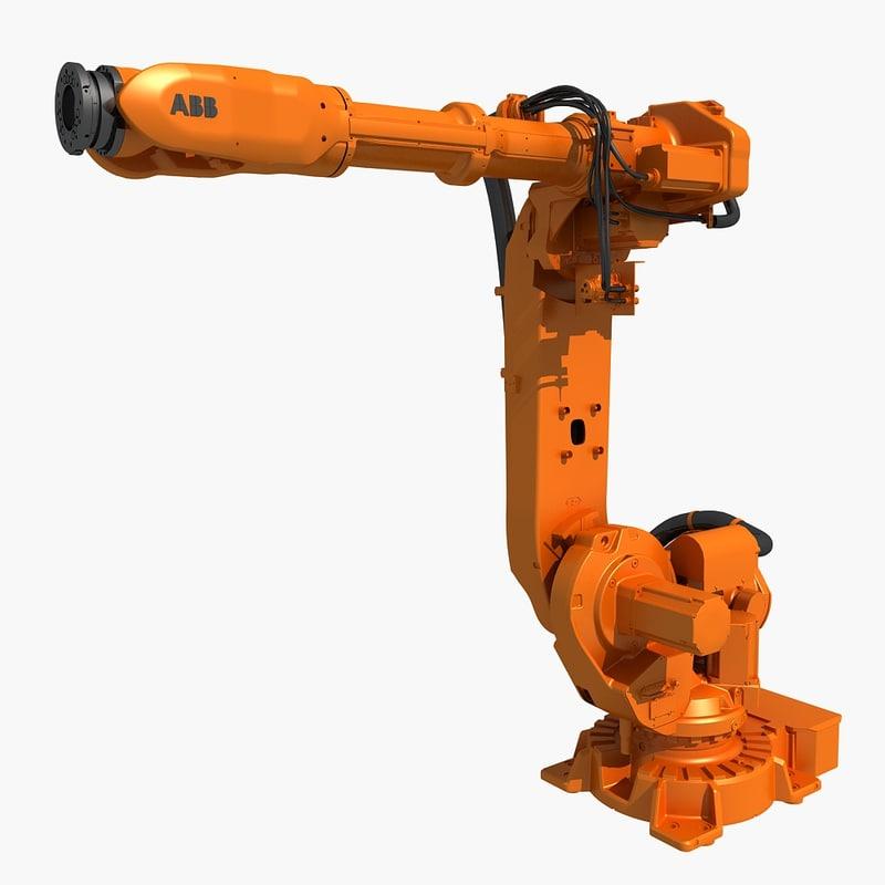 3D industrial robot abb