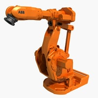 industrial robot abb 3D model