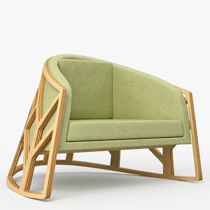 3D hug chair