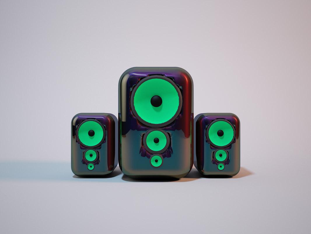home mini speaker 3D model