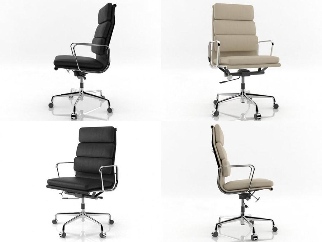soft pad chair ea 3D