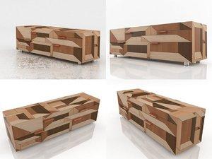3D inlay porro model