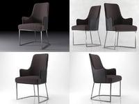 3D armchair flexform