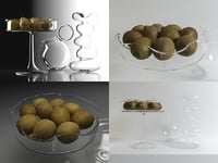 3D kitchen set 02