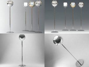 3D glo floor lamp