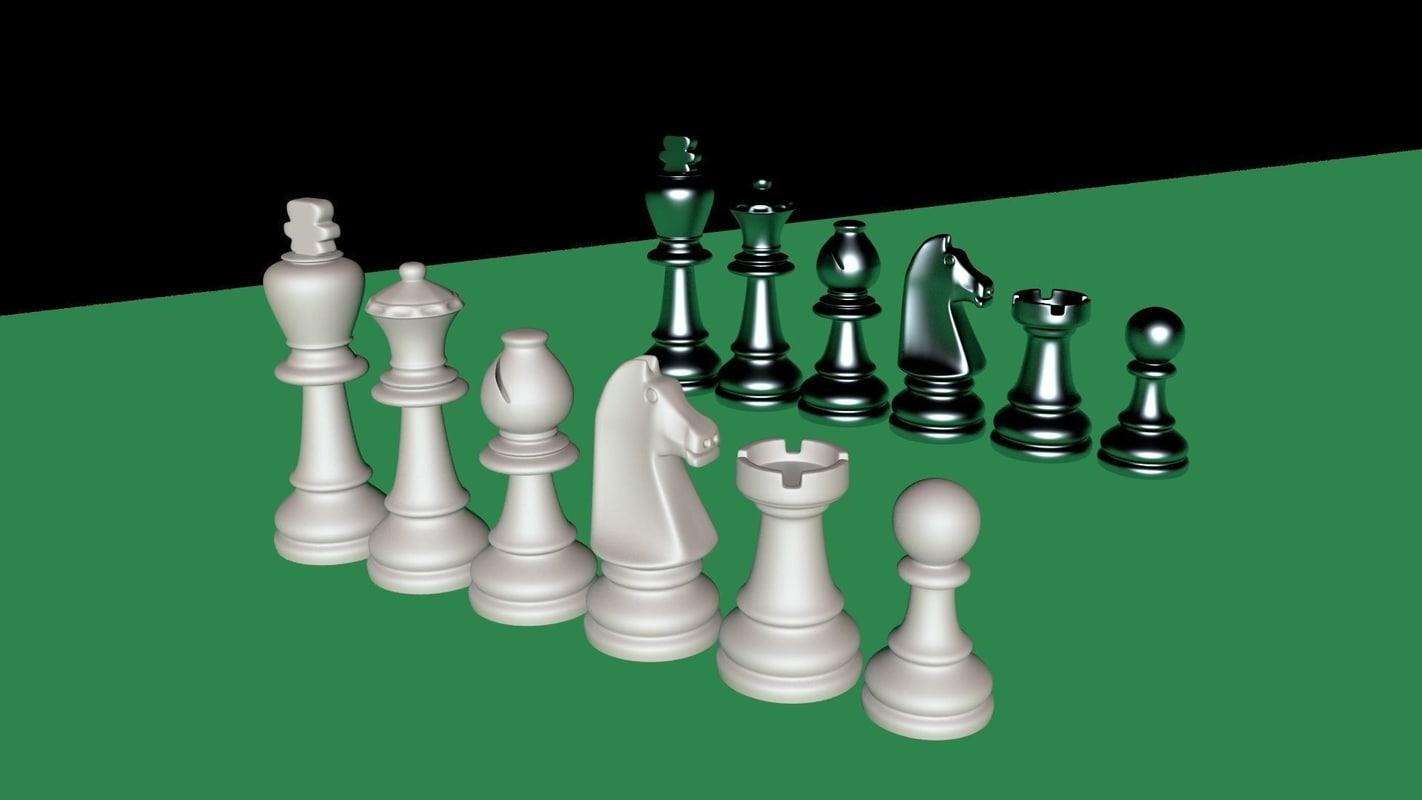 sandstone chess 3D