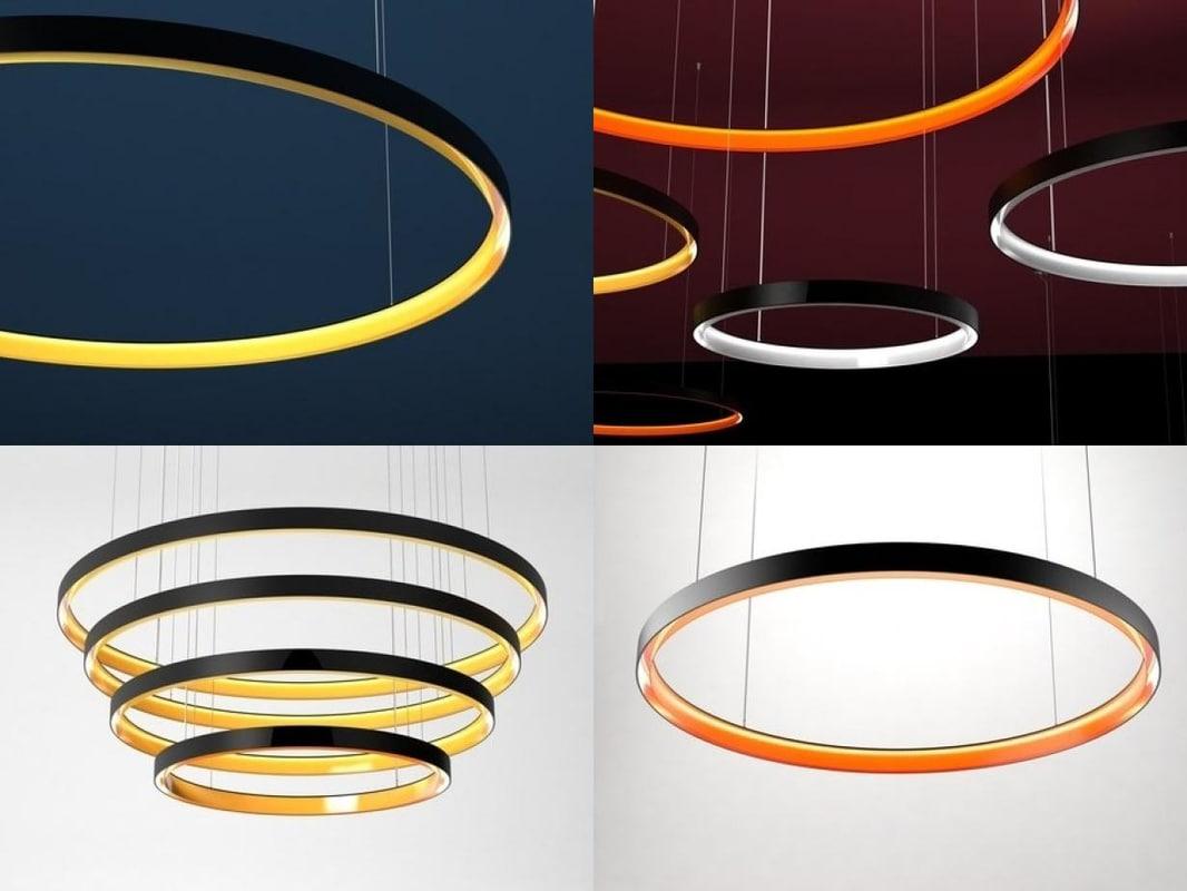 3D ambient rings model