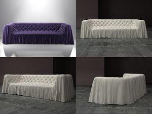 3D bohemien sofa