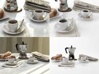 coffee cups model