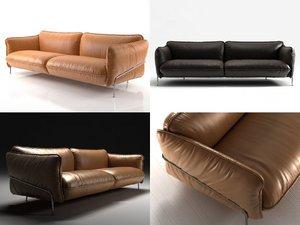 3D continental sofa