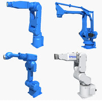 3D industrial robot model